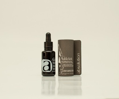 Addiction, l'Huile Visage, Absolution, 60 euros