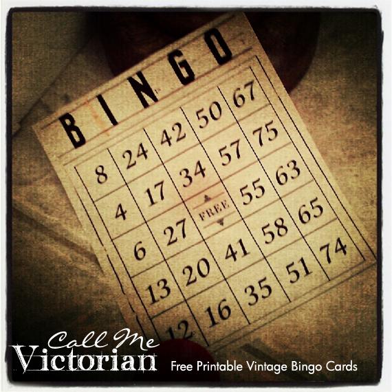Free Printable Vintage Numbers