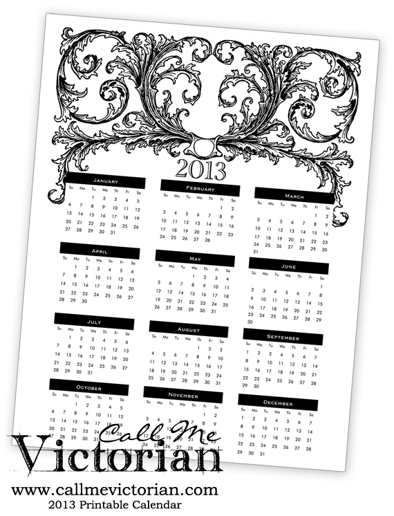: Some free printables for 2013