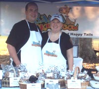 Bama Barkery owners Michael and Johnna Mathews (photo by Alisha Bamberg)