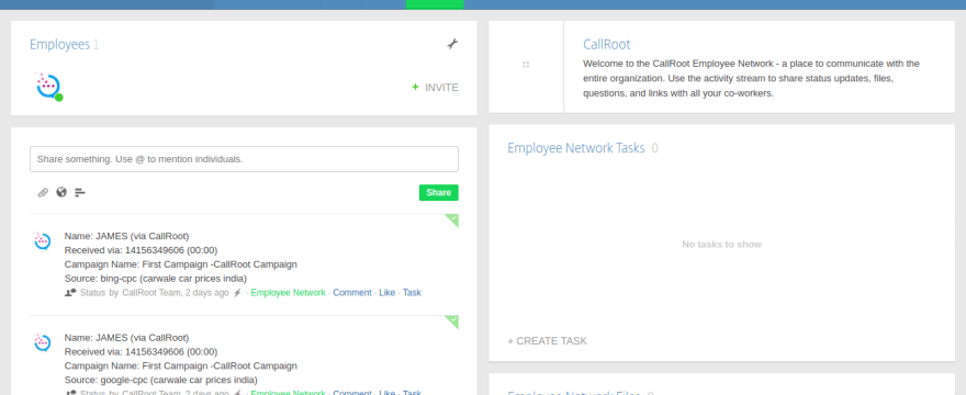 Integrate CallRoot Call Tracking with Podio