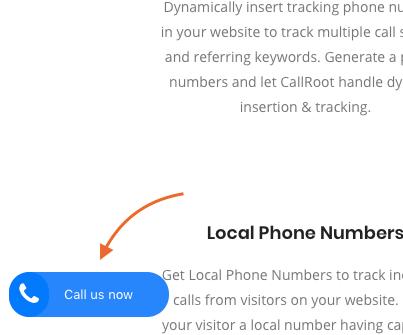 CallRoot Click-to-Call Button