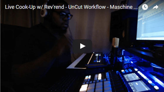 New Un-Cut Workflow Video on YouTube