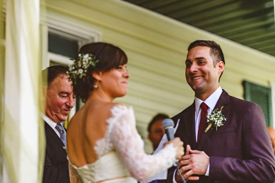 niagara backyard wedding