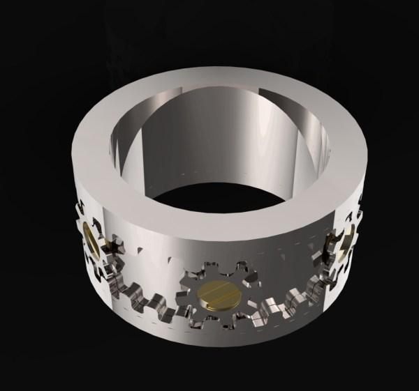 Kinekt Gear Ring CallumTyson