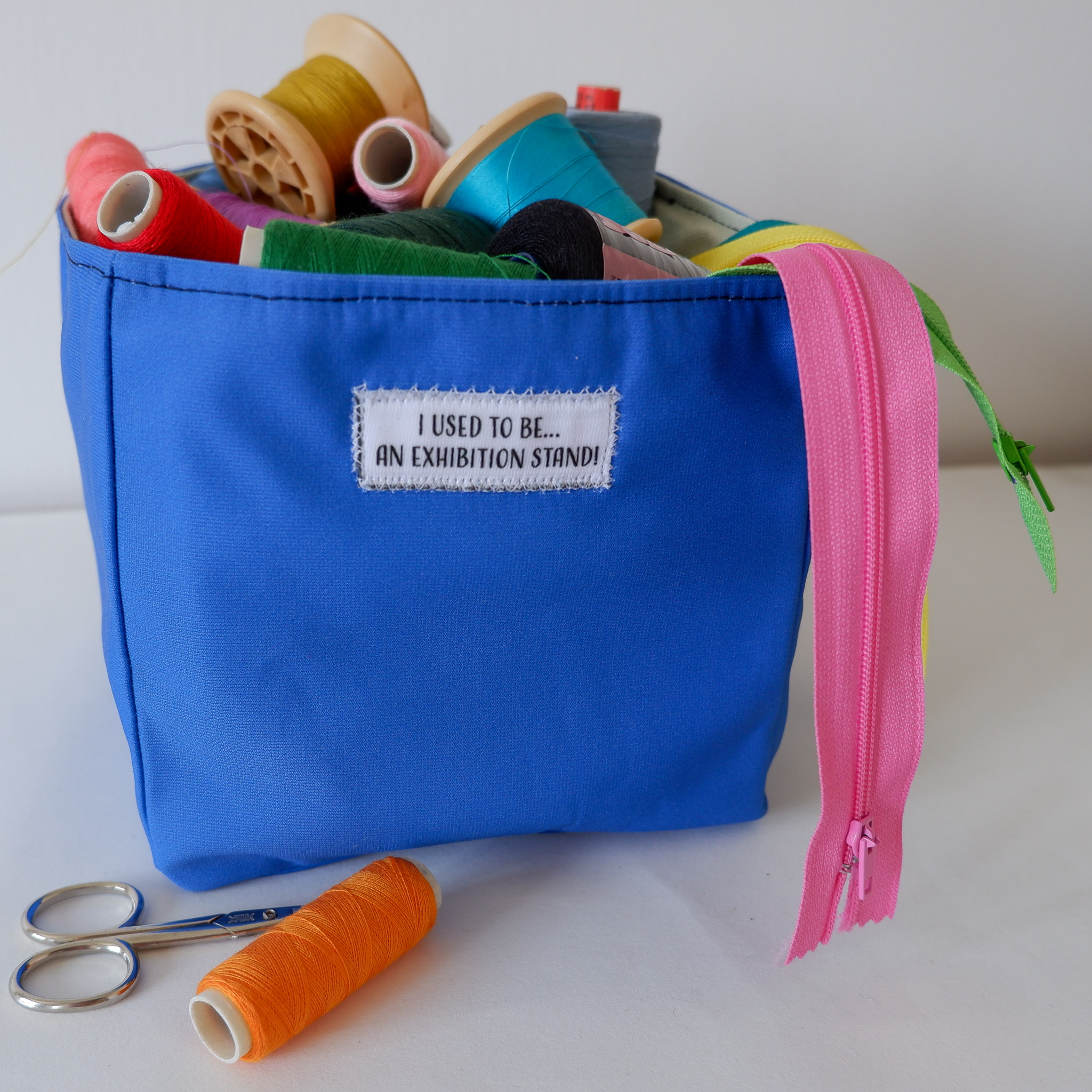Fabric Storage Box… Blue