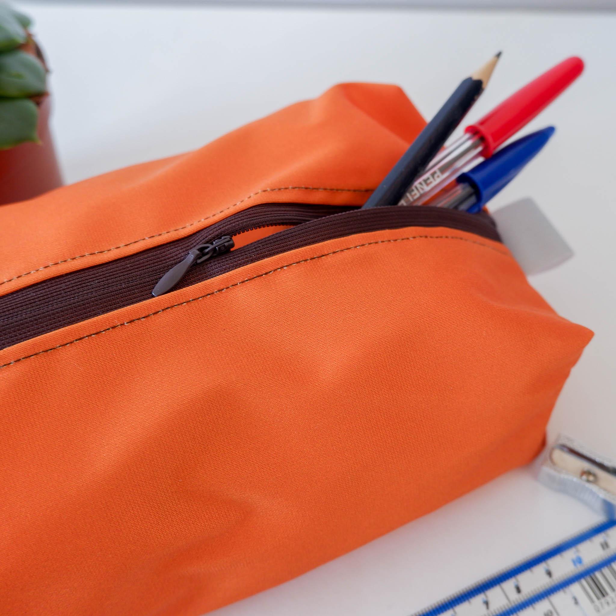 Pencil Case… Orange