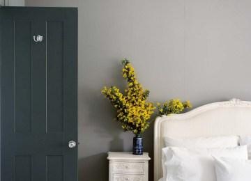 Passende Wandfarbe Fur Wohn Und Schlafbereich   Exceptional Blaue ...