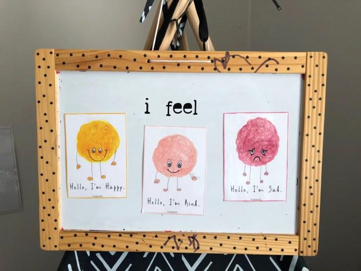 Fuzzy Feelings Printable Feelings Cards