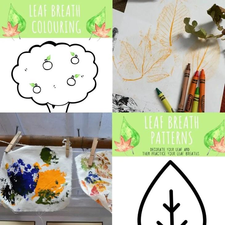 Leaf Breaths Creative printable activities