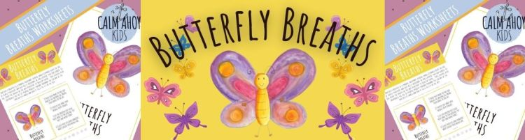 Butterfly Craft and Breathing Activity for Kids