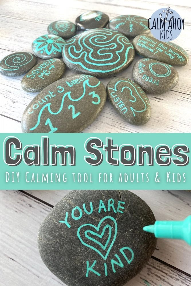 These lovely calm stones are a great DIY calming tool for kids. Easy to make and a great opportunity to try out lots of calming strategies.