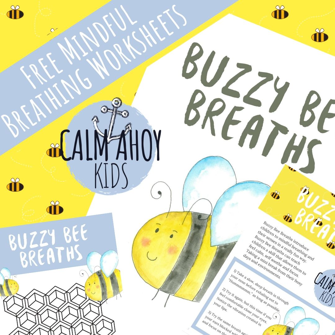 Buzzy Bee Breaths A Mindful Breathing Exercise For