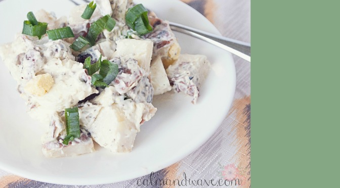 Quick and Easy Red Potato Salad