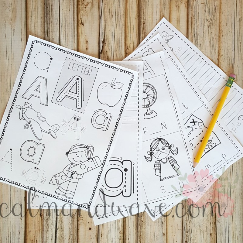 Letter of the Week Letter A Freebie
