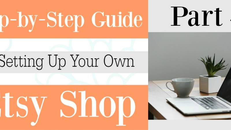 Part 4 Setting up your Etsy shop | Self Portrait, Bio and Social Media Links