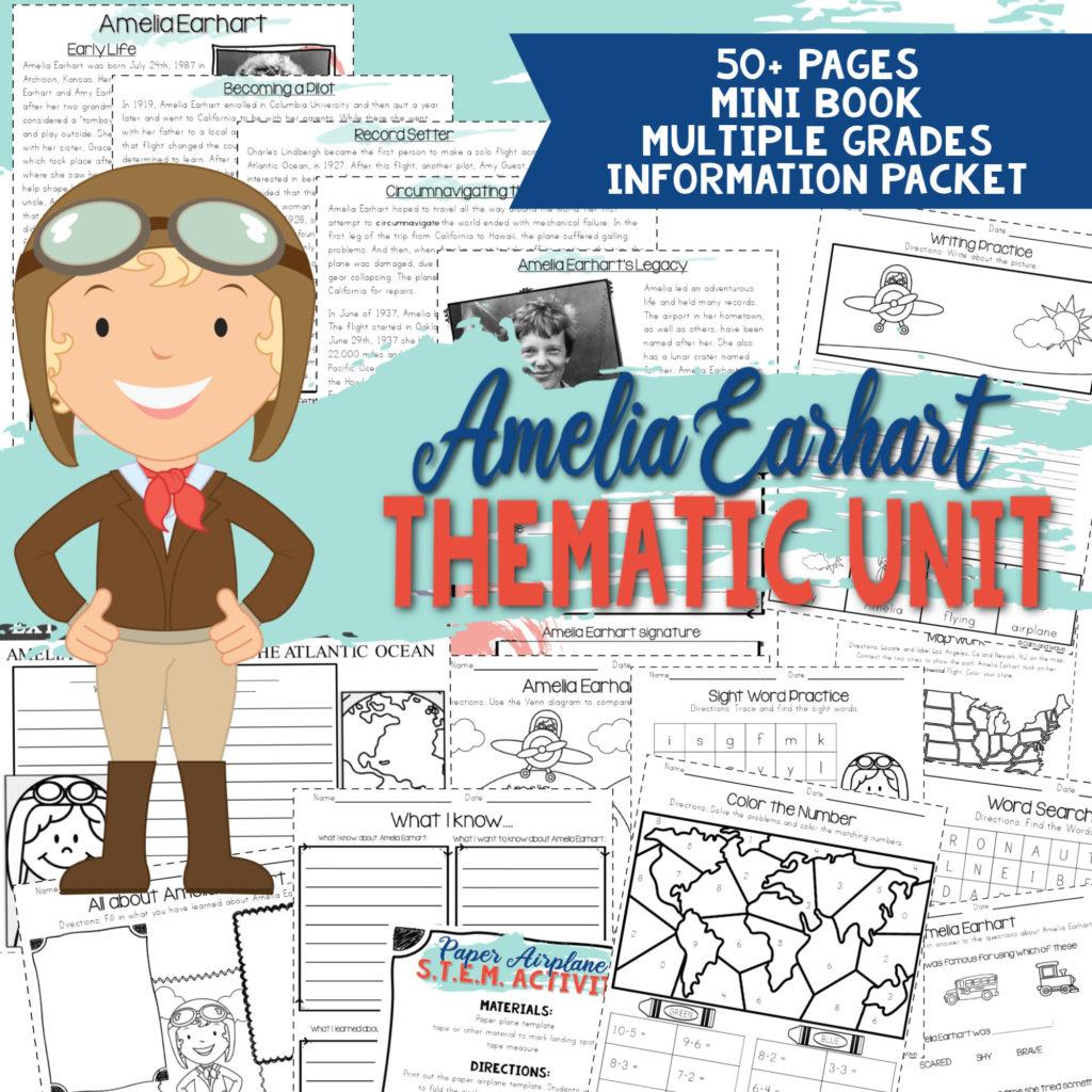 Amelia Earhart Unit Study