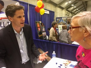 Marshall Tuck, running for California schools superintendent, favors charters. Photo by Laurel Rosenhall for CALmatters