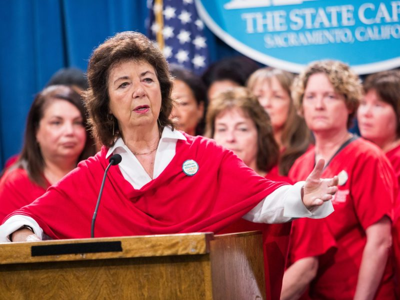 Nurses leader RoseAnn DeMoro has been front and center in the universal health care debate and a host of other issues.