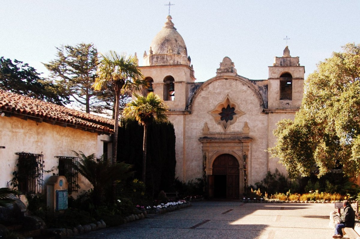 The Carmel Mission. Photo by Shubert Ciencia via Flickr