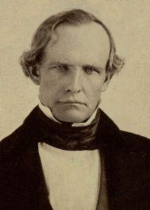California's first governor, Peter Hardeman Burnett.