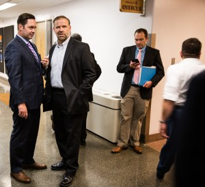 Lobbyist Paul Bauer (far left) called the three-day rule a game-changer. CALmatters photo by Max Whittaker