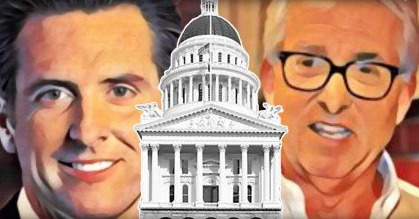Democratic Lt. Gov. Gavin Newsom and Republican businessman John Cox are in a match-up to replace outgoing California Gov. Jerry Brown.