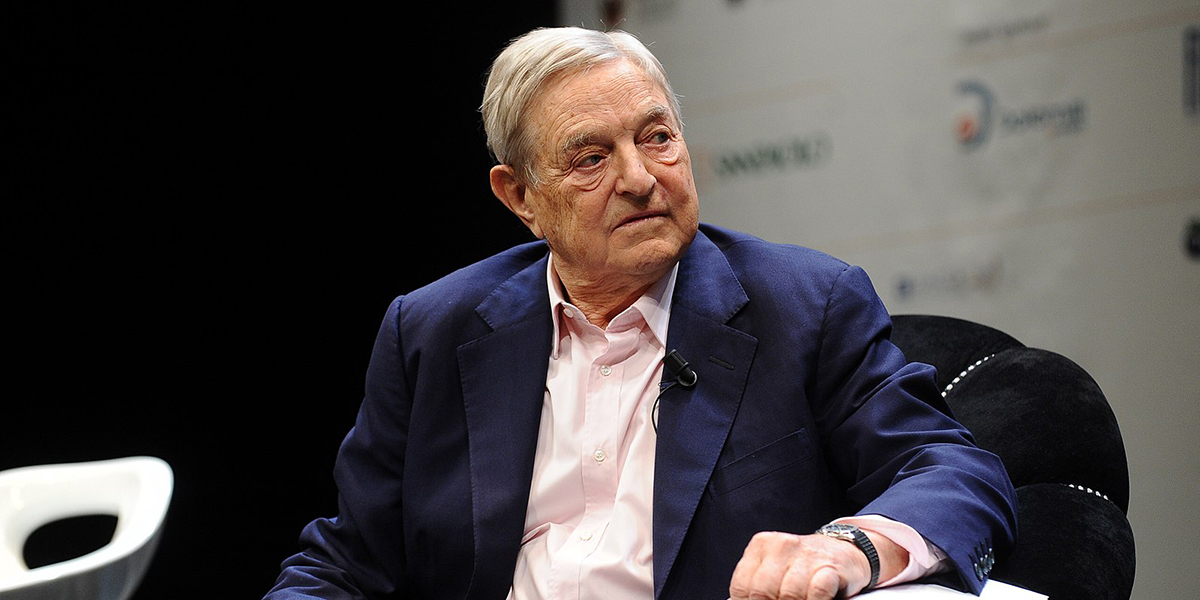 George Soros is shown in this Wikimedia Commons photo from June 2012.
