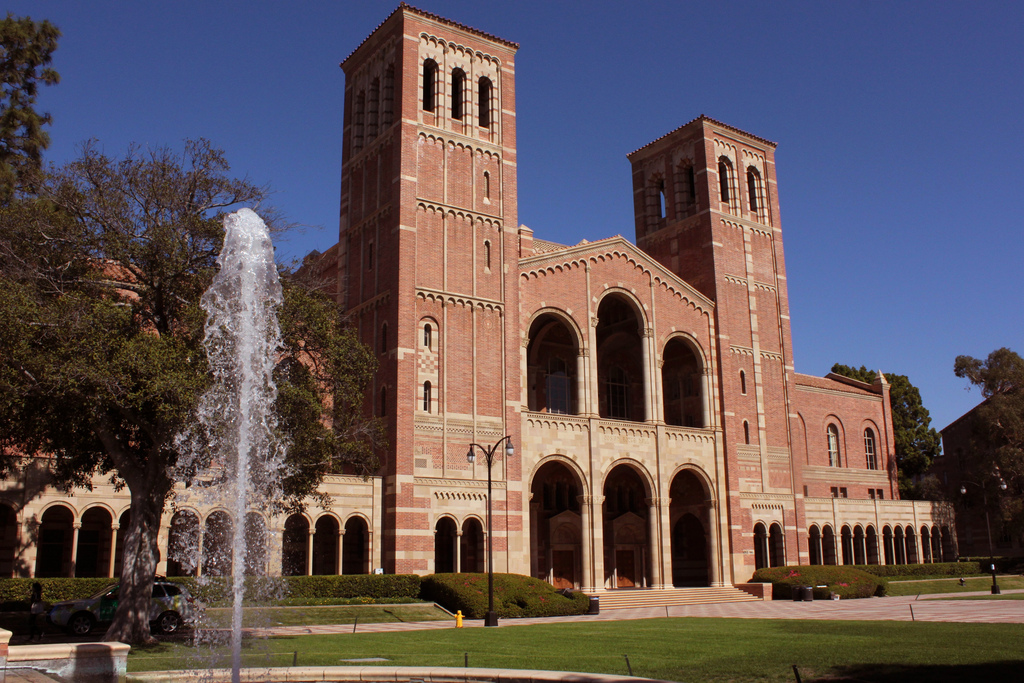 Royce Hall on the UCLA campus. Photo by Prayitno Photography via Flickr