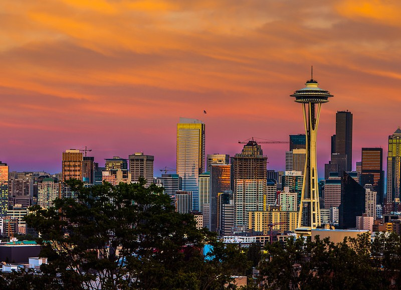 Seattle skyline. Photo by Howard Ignatius via Flickr