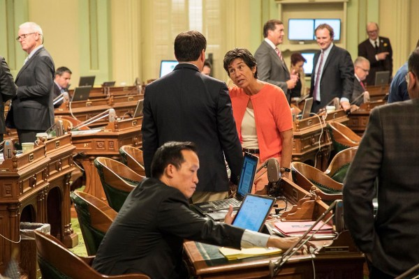 Assemblywoman Susan Talamantes Eggman (D-Stockton). August 6, 2018. Photo by Robbie Short for CALmatters