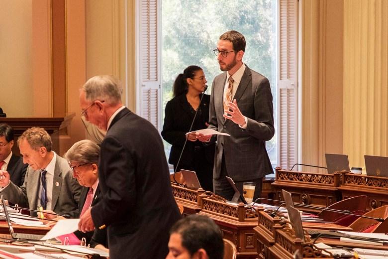 Sen. Scott Wiener has reintroduced three bills vetoed by Jerry Brown now that Gavin Newsom is governor.