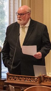 Sen. Jim Beall, Democrat of San Jose. Photo by Robbie Short for CALmatters
