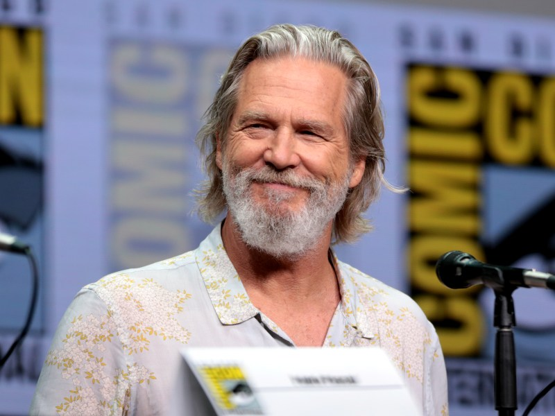 The actor Jeff Bridges. Photo by Gage Skidmore, via Wikimedia Commons.