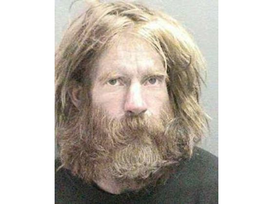 Fullerton Police Department booking photo of the late Kelly Thomas, a schizophrenic homeless man beaten and tased to death by police.