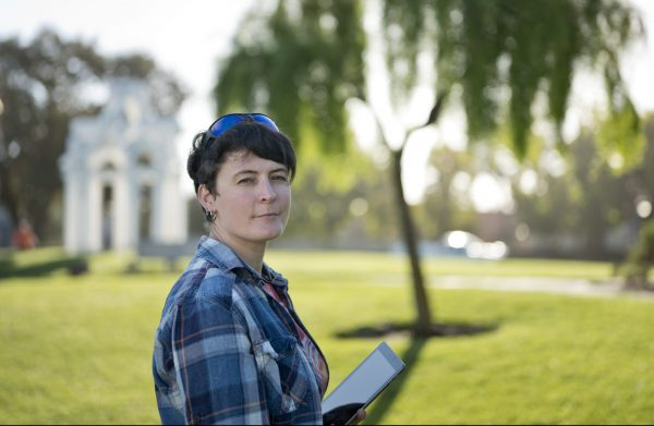 Former Art Institute student Jana Bergevin filed a complaint about the school with California's Bureau for Private Postsecondary Education, a watchdog agency that oversees for-profit colleges, but her case languished for more than two years. Photo by James Bernal for CALmatters.