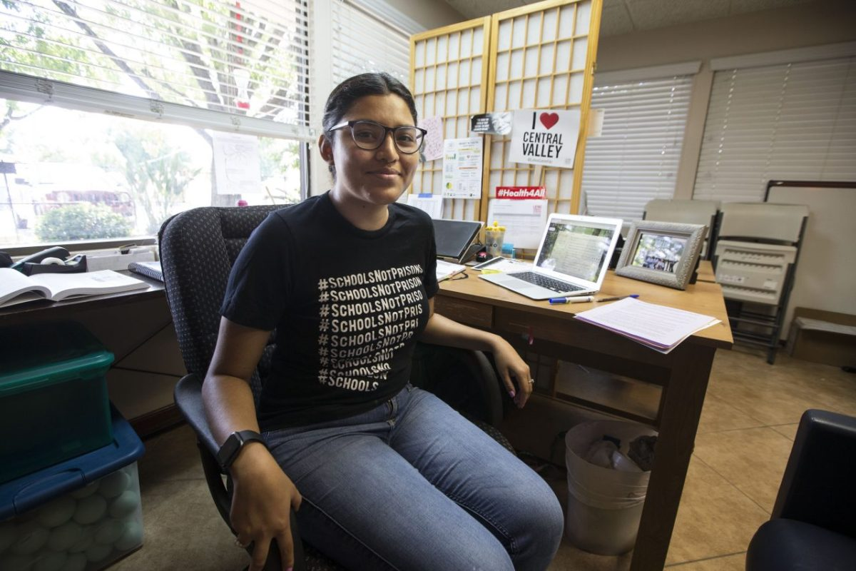 Aimee Mestas, 20, considers herself lucky because she has Medi-Cal but worries about her family members who are undocumented and rely on home remedies when they are sick. Photo by Alex Horvath for CALmatters