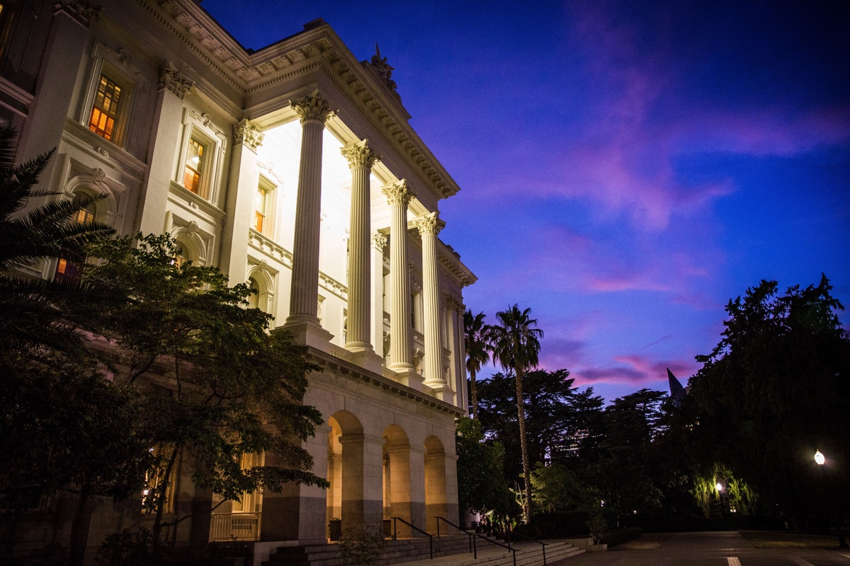 The State Capitol in Sacramento, California, September 10, 2015. California Bills.