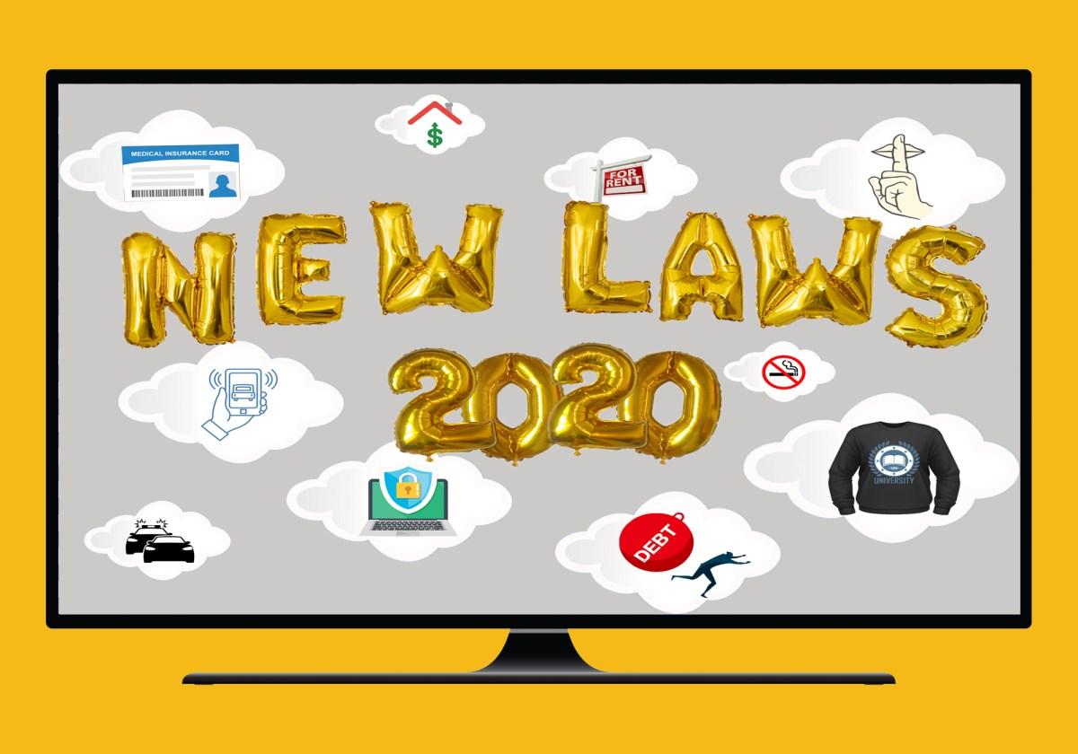 New California laws 2020