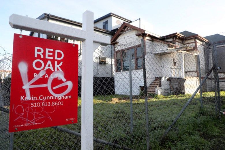 A vacant home is photographed at 1818 Adeline Street on Tuesday, Dec. 24, 2019, in Oakland, Calif. Photo by Aric Crabb, Bay Area News Group