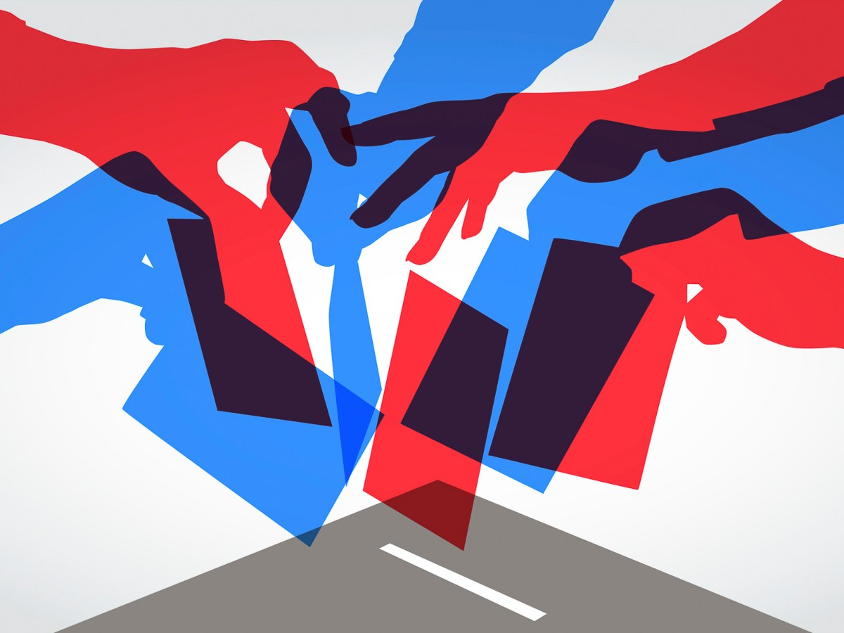 Electoral confusion in California's top-two primary. Image via iStock