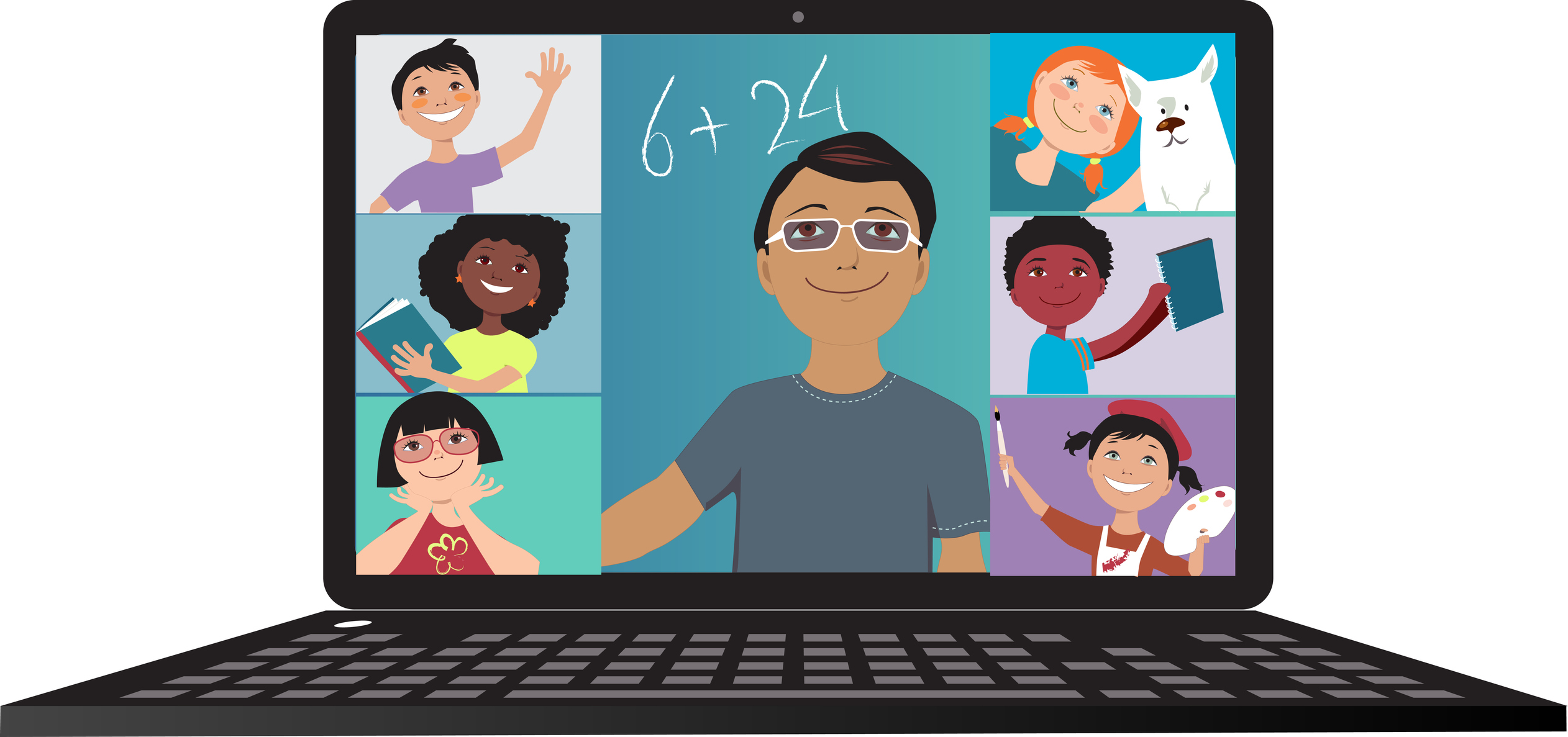 A new approach is needed for distance learning; new research provides key  lessons | CalMatters