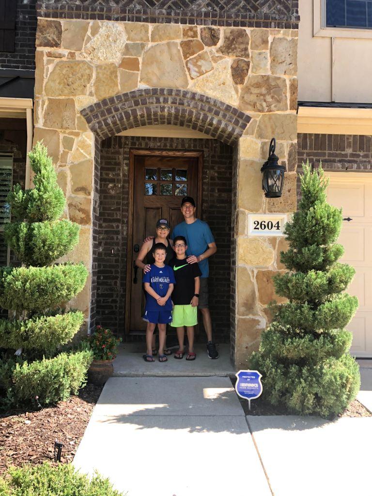 Druyor family Frisco Texas