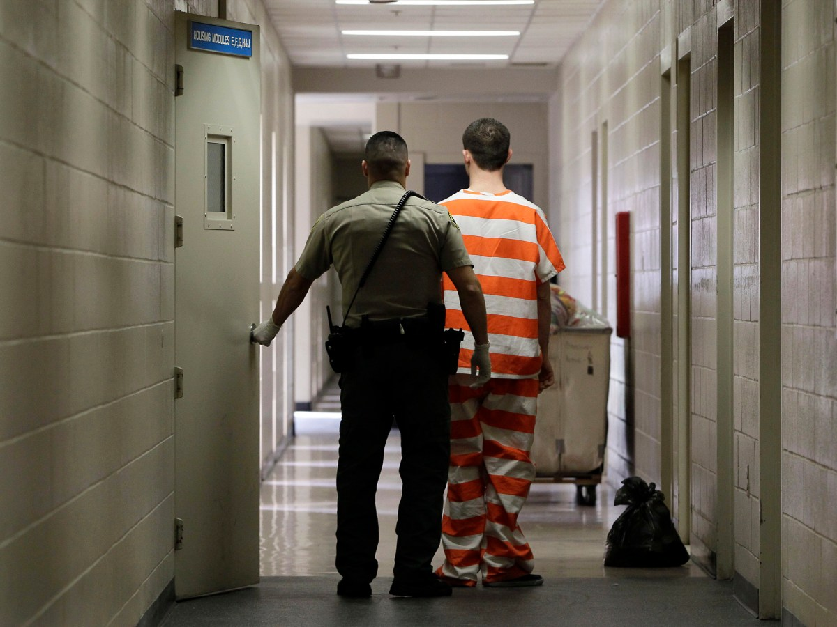 Tens of thousands of people incarcerated in county jails are eligible to vote under California law, but many will not cast ballots this election due to lack of information and delays receiving mail-in ballots. Photo by Rich Pedroncelli, AP Photo/file