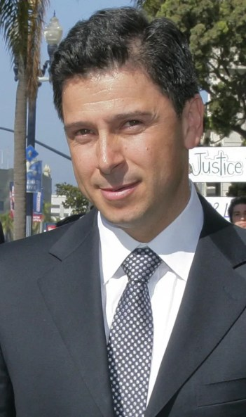 Fabian Nunez, former California Assembly speaker and now a partner at Mercury Public Affairs, complained about how Padilla's office awarded the California vote contract to a competing finalist. AP Photo/Denis Poroy,2009 File Photo)