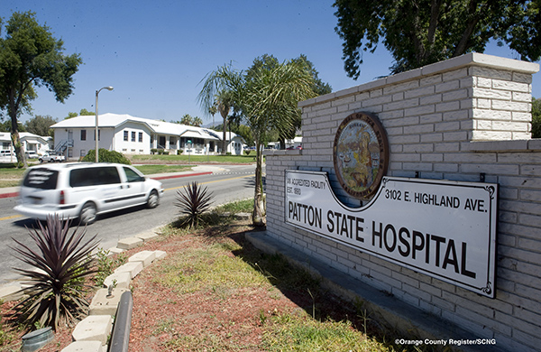 Patton State Hospital in San Bernardino County on June 26, 2013. Photo by PAUL BERSEBACH, ORANGE COUNTY REGISTER/SCNG