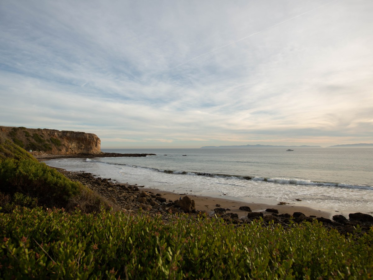 Abalone Cove Shoreline Park has a beach with tide pools accessible by hiking down a trail in Rancho Palos Verdes on Jan. 13, 2021. Photo by Shae Hammond for CalMatters