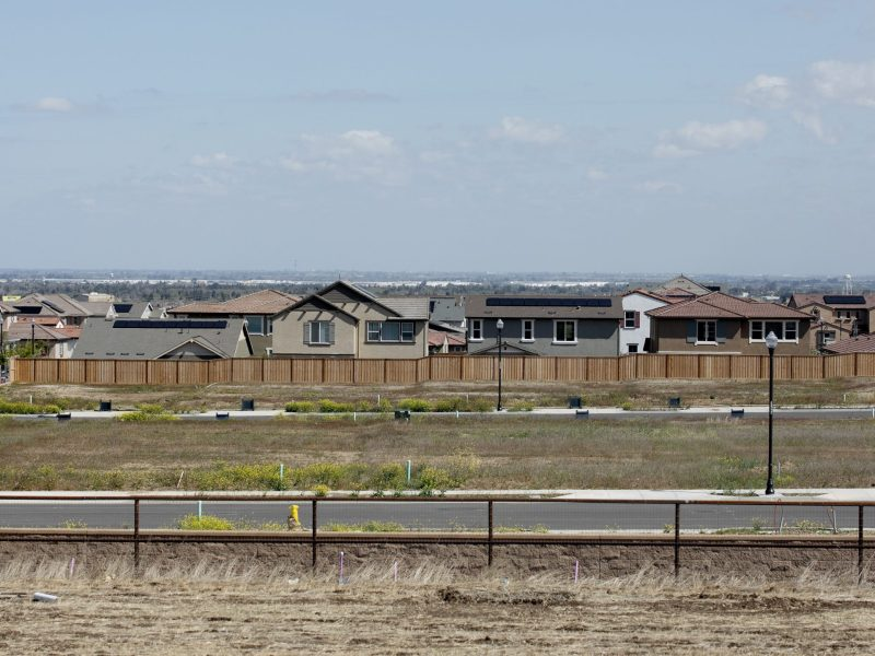 Housing in a planned neighborhood off of 580 near Tracy