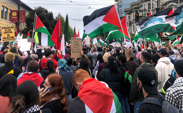 Teachers unions in Los Angeles and San Francisco are supporting Palestinians.