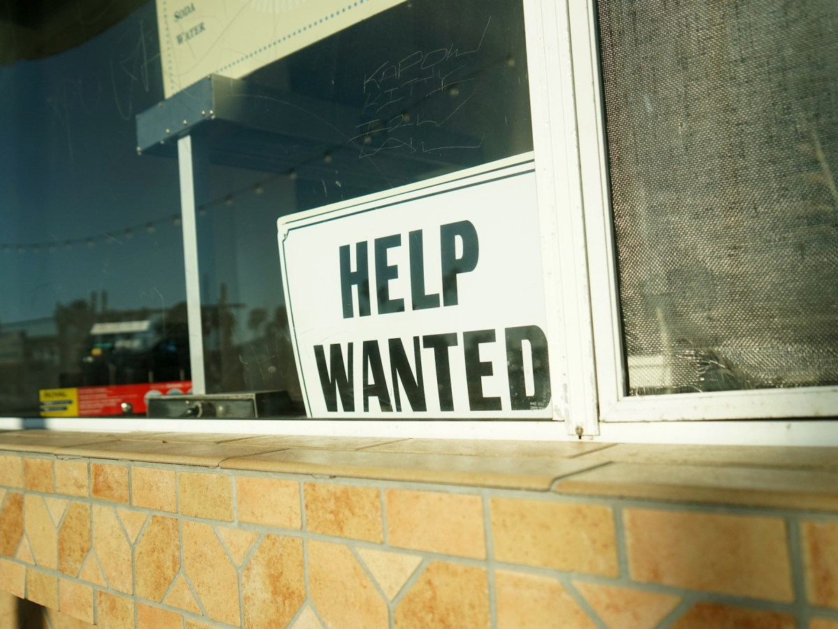 California's April unemployment rate indicates the paradox the state is confronting. Image via iStock